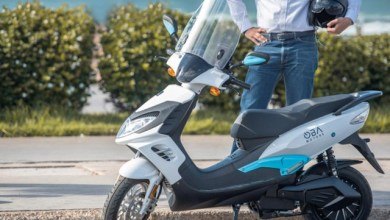Photo de OBAMOTORS lance son premier scooter électrique destiné aux professionnels