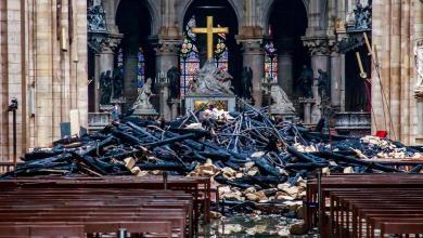Photo de Notre Dame de Paris. La presse internationale évoque des dons non-honorés