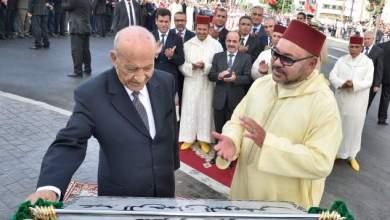Photo de Le roi baptise la promotion de nouveaux officiers du nom d'Abderrahmane Youssoufi