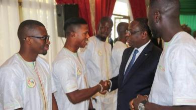 Photo de Macky Sall félicite les Lions du Sénégal