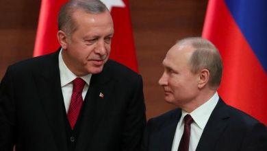 Photo de Poutine et Erdogan d'accord pour «intensifier» leur coopération à Idleb