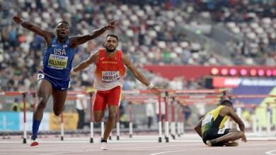 Photo de Mondiaux d'athlétisme 2019 : l'Américain Grant Holloway sacré champion du monde au Qatar