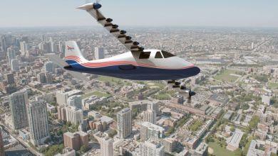Photo de La NASA crée le premier avion 100% électrique