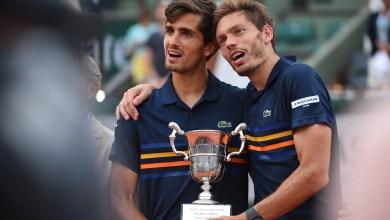 Photo de Masters 1000 de Paris. Mahut et Herbert remportent le titre en double