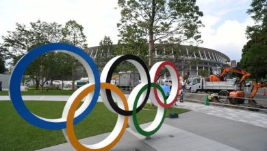 Photo de JO 2020. Le Comité national olympique s'échauffe