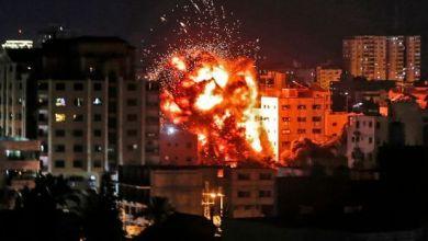 Photo de Trois roquettes tirées de Gaza sur Israël