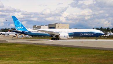 Photo de Boieng reporte le premier vol du 777X