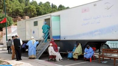 Photo de El Youssoufia: Environ 3.000 bénéficiaires d'une caravane médicale pluridisciplinaire