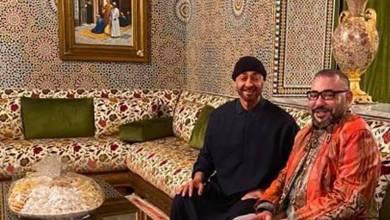 Photo de Le roi Mohammed VI rend visite à Mohammed Ben Zayed