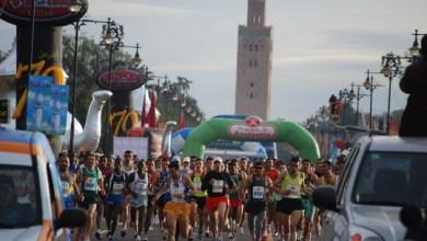 Photo de Hicham Laqouahi remporte le marathon international de Marrakech