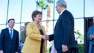 Photo de La directrice du FMI en visite au Maroc. Indiscrétions…