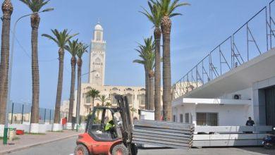 Photo de Casablanca: l'hôpital de campagne sur la dernière ligne droite (vidéo)