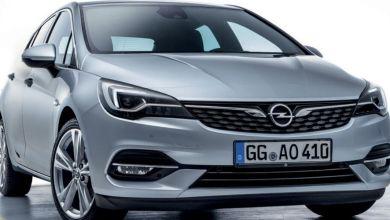 Photo de Opel Astra, la version restylée disponible chez Auto Hall