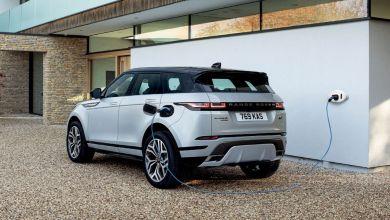 Photo de Land Rover. La conversion à l'hybride se poursuit