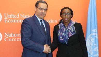 Photo de Lutte anti-Covid: le Maroc préside une réunion sur le plan d'action du secrétariat de la CEA-ONU