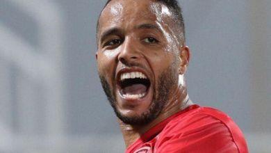 Photo de Youssef El Arabi offre le titre à l'Olympiakos