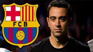 Photo de Xavi de retour au Barça ?