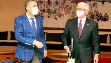 Photo de Rabat: l'ambassadeur US reçu par Abdellatif Hammouchi