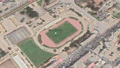 Photo de Agadir. Parc Al Inbiâat : le stade intégré sans les gradins