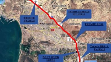 Photo de Agadir : le chantier de la rocade Nord-Est lancé