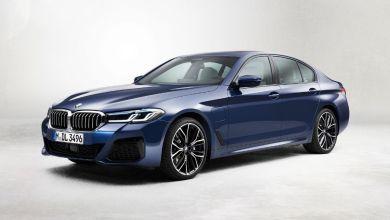 Photo de BMW Série 5 : un coup de fard électrisant