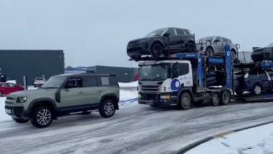 Photo de Quand un Defender tracte 44 tonnes ! (VIDEO)