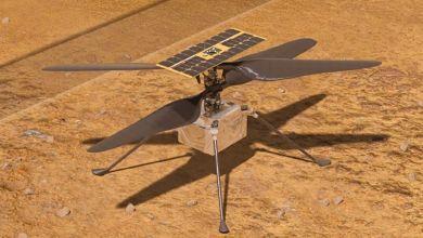 Photo de Espace : Ingenuity réussit un premier vol d'essai historique sur Mars