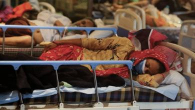 Photo de Inde : un «champignon noir» attaque d'anciens malades de la Covid-19
