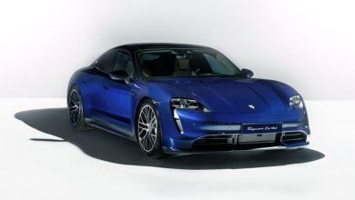 Photo de Porsche Taycan : chargeur émotionnel
