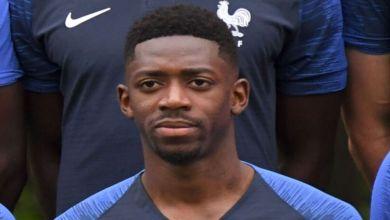 Photo de Ousmane Dembélé forfait pour le reste de l'Euro