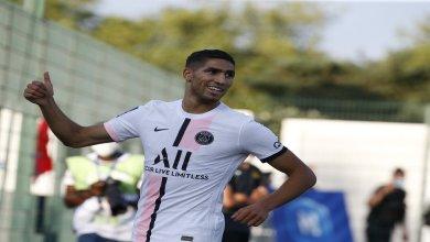 Photo de Foot/amical: Hakimi offre la victoire au PSG (VIDEO)