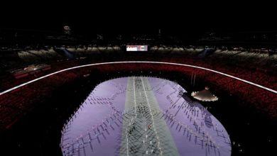 Photo de Ouverture officielle des Jeux Olympiques de Tokyo 2020
