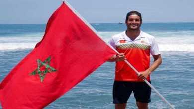 Photo de JO-2020: le surfeur marocain Ramzi Boukhiam en 8es de finale