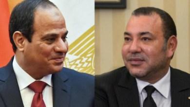 Photo de Le message du roi Mohammed VI au président égyptien Abdel Fattah Al-Sissi