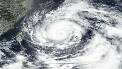 Photo de Le typhon In-Fa arrive en Chine