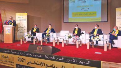 Photo de Programmes électoraux. Les principaux engagements du Mouvement populaire