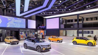 Photo de Renault : la R5 relie le passé au futur à Munich