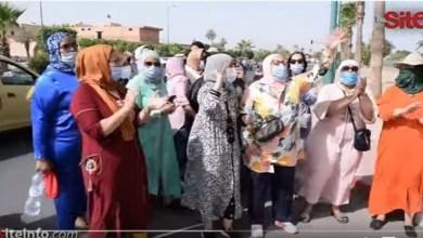 Photo de Marrakech: les employées de hammams battent le pavé (VIDEO)