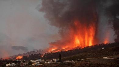 Photo de Volcan en éruption aux Canaries : évacuation massive de la population locale