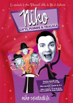 Niko Ch'ti, plumes et tralala ! AU Bulto Music-Hall Lille
