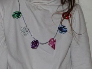 kit créatif collier de pierres précieuses Pirouette Cacahouète led79
