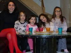 Soirée avec mes filles devant la TV