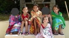 Une AM à la piscine avec ma cousine et ses enfants