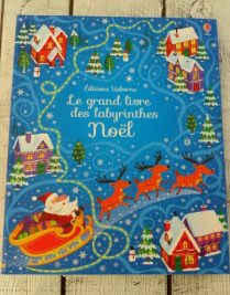 Le grand livre des labyrinthes Noël - Editions Usborne