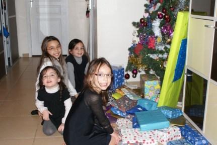 Déballage des cadeaux