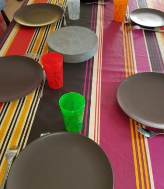 Notre nouveau service de table :-)