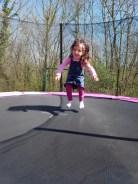 C'est chouette le trampoline
