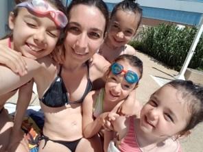 AM piscine avec les filles