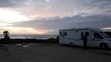 bivouac camping-car Sicile