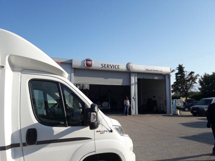garage Fiat Corinthe